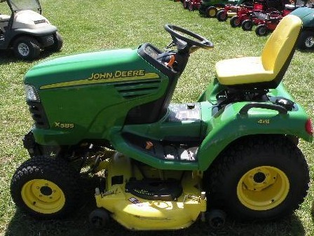 john deere x465 x475 x485 x575 x585 lawn garden tractor service rh aservicemanualpdf com john deere 265 garden tractor manual john deere 110 garden tractor manual