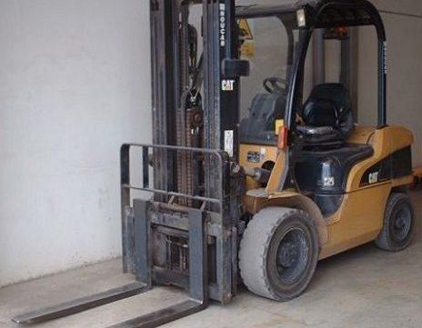 caterpillar cat dp20n dp25n dp30n dp35n forklift lift trucks service