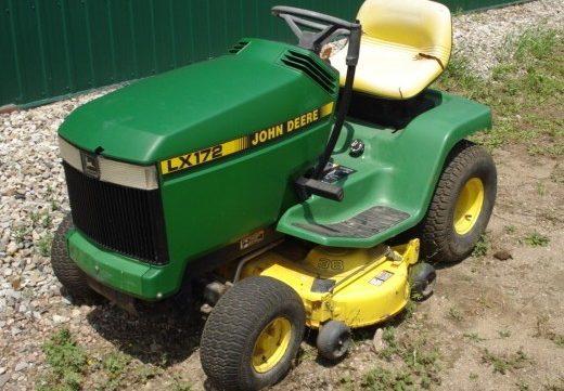 john deere lx172 lx173 lx176 lx178 lx186 lx188 lawn garden tractor rh aservicemanualpdf com John Deere LX188 Hood John Deere LX188 Hood