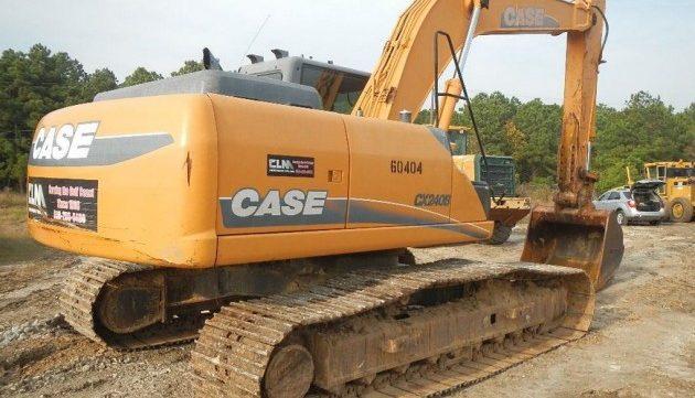 CASE CX210B CX230B CX240B CRAWLER EXCAVATOR Service Repair Manual