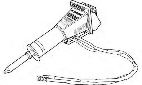 Bobcat Hb Series Hydraulic Breaker Service Repair Manual