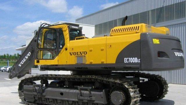 Volvo Ec700b Lc Ec700blc Excavator Service Repair Manual