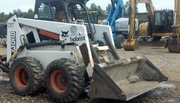 Bobcat 953 F Series Skid Steer Loader Parts Catalogue