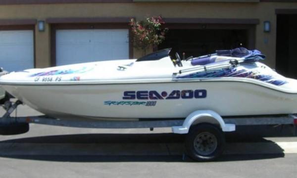 1999 Sea Doo Seadoo Sportster  1800 Challenger  1800 Service