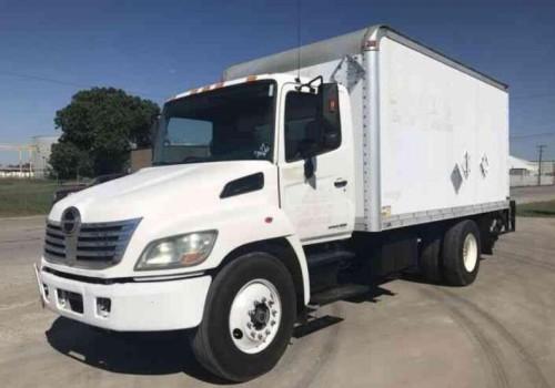 2007 Hino 145  165  185  238  258lp  268  338 Series Truck