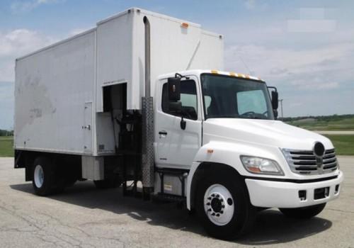 2009 Hino 145  165  185  238  258lp  268  338 Series Truck