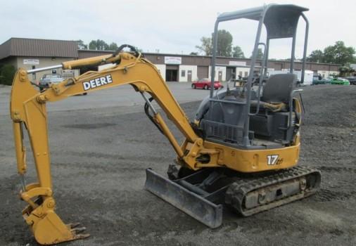 John Deere 17zts Compact Excavator Service Repair