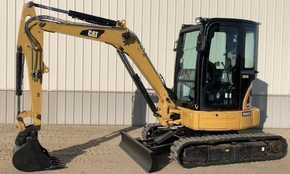 Caterpillar Cat 303 5c Cr Mini Hydraulic Excavator  Prefix